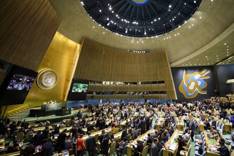 Касым-Жомарт Токаев обозначил на Генассамблее ООН 4 тревожные мировые тенденции