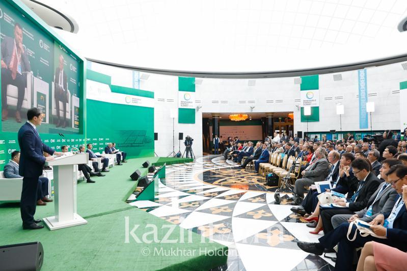 Саммит по возобновляемым источникам энергиипроходит в Нур-Султане