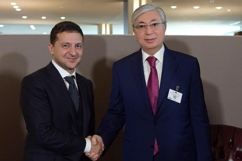 Tokayev, Zelensky invite each other to pay mutual visits