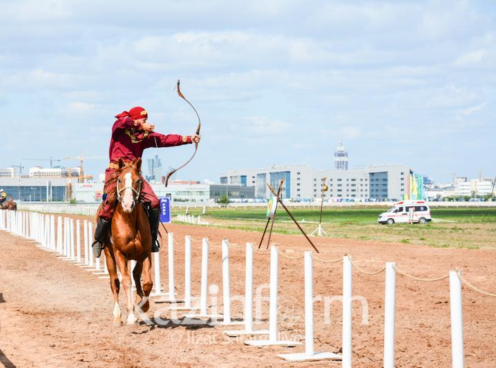 民族体育项目比赛在阿克托别举行