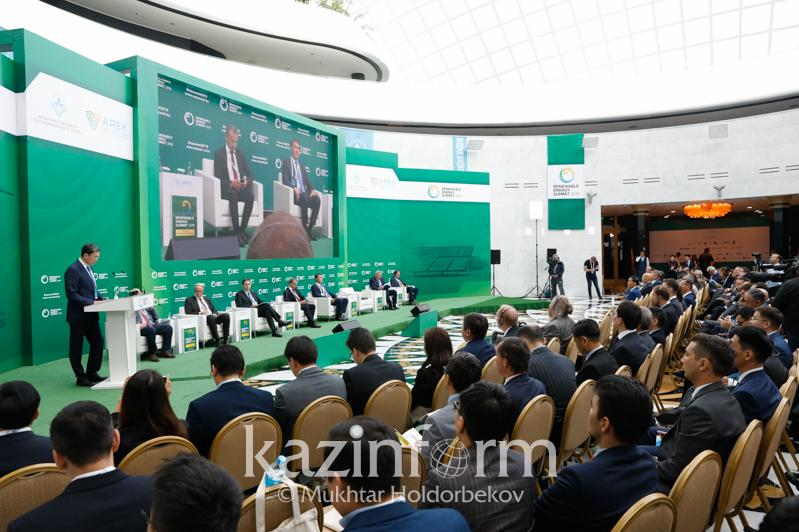 What 'green' energy projects will be implemented in Kazakhstan