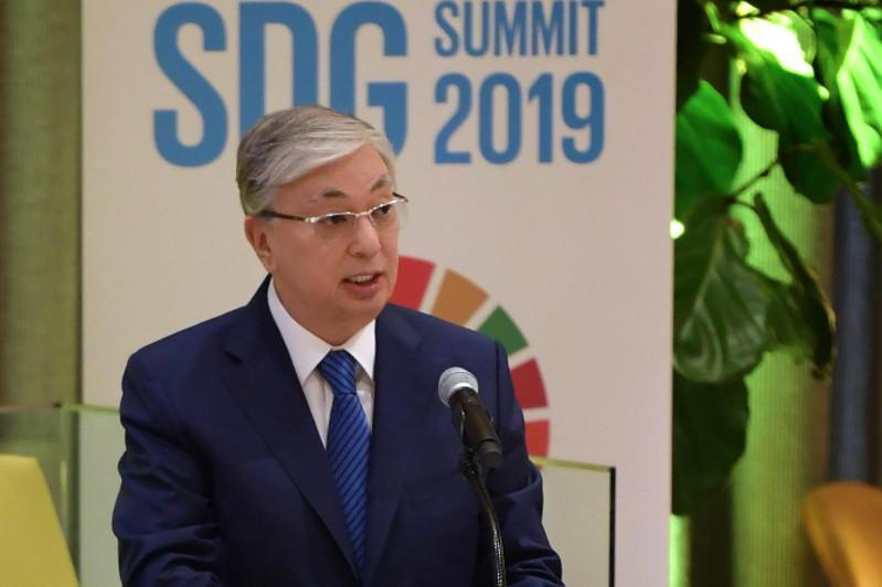 Президент Казахстана выступил на Форуме высокого уровня под эгидой Генассамблеи ООН