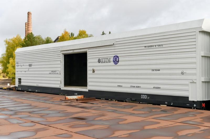 На экспорт отправятся первые термовагоны производства СКО
