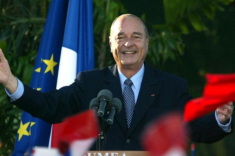 法国前总统希拉克逝世享年86岁