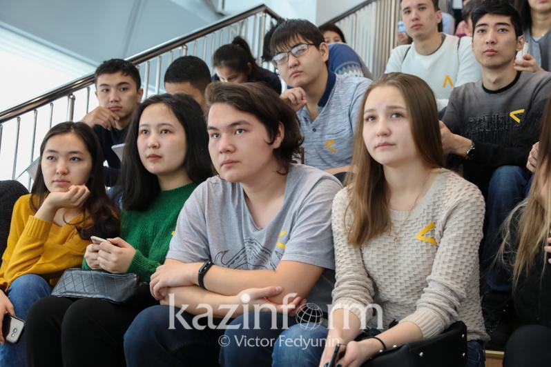 Алматылық студенттерге дәстүрлі дін ұғымы түсіндірілді
