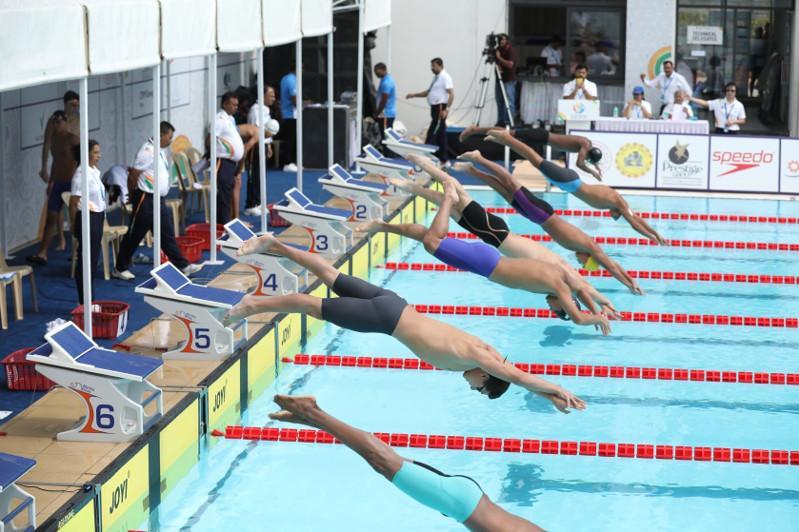 游泳亚青赛:哈萨克斯坦代表团共收获10枚奖牌