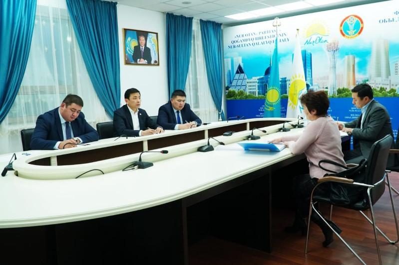 Алтай Кульгинов принял граждан в общественной приемной партии «Nur Otan»