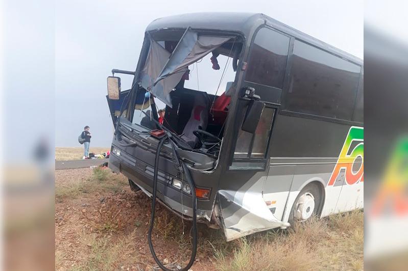ІІM Almaty oblysynda avtobýstyń apatqa ushyraýyna ne sebep bolǵanyn aıtty