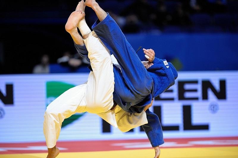 柔道世青赛:哈萨克斯坦选手摘得银牌