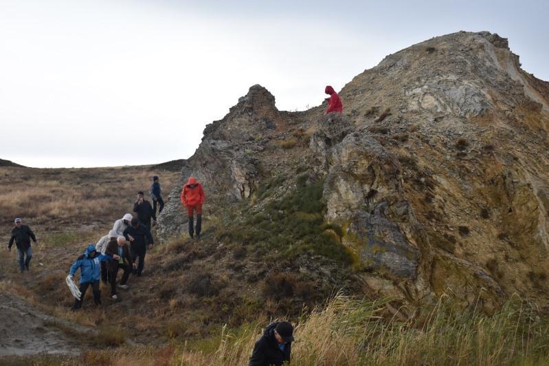Жаманшың кратері: Геопарк әлде аспан асты музейі