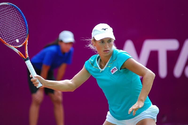 哈萨克斯坦选手晋级北京网球公开赛第二轮