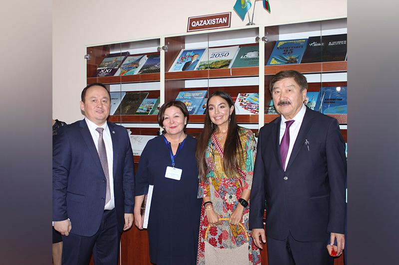 Kazakh Culture and Literature Centre unveils at Azerbaijan National Library