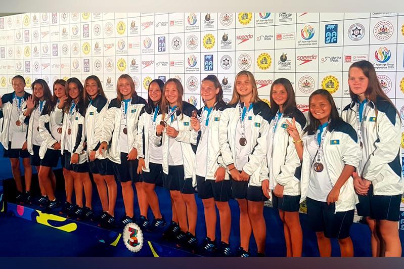 Қазақстандық ватерполшы қыздар Азия чемпионатының қола жүлдегері атанды