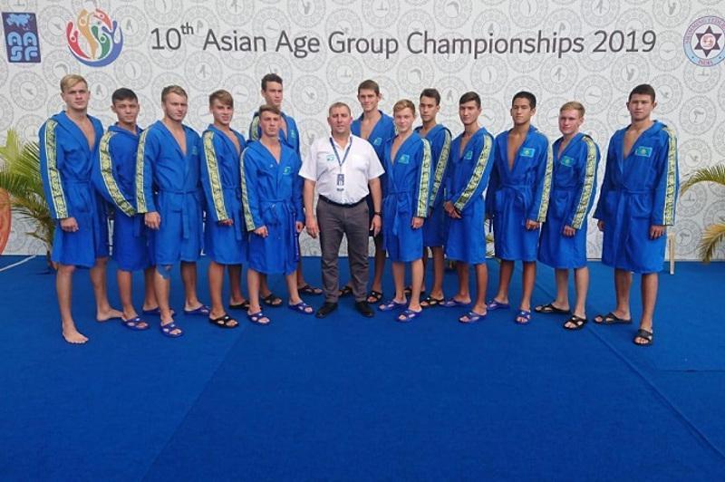 Kazakhstan bags silver at 10thAsian Age Group Championships 2019