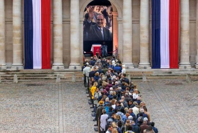 希拉克葬礼将在巴黎举行 多国领导人出席