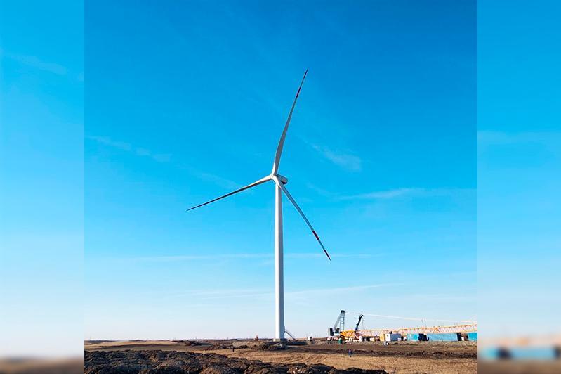 外国投资商在阿克托别开建48兆瓦风电场