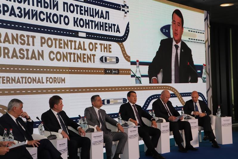 阿里汗•斯玛伊洛夫建议欧亚经济联盟交通运输基础设施数字化