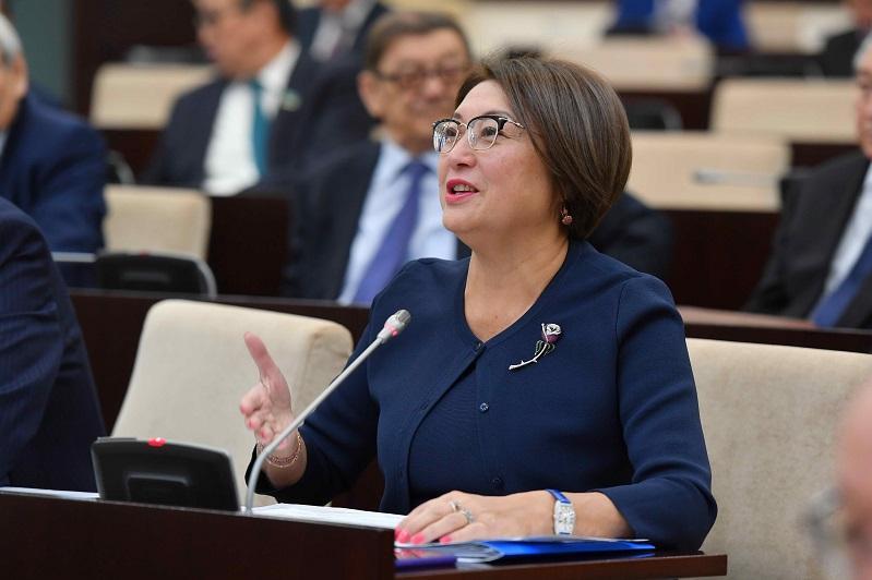 Бырганым Айтимова избрана заместителем председателя Совета сенаторов