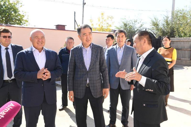 Алматы әкімі Арыс қаласындағы үйлердің сапасын тексерді