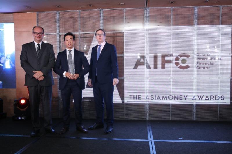 阿斯塔纳国际金融中心荣获2019年度新丝路金融大奖