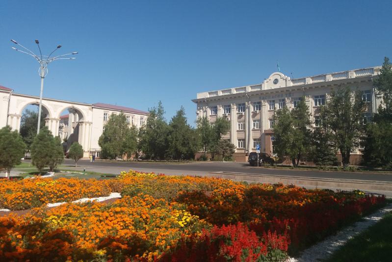 В Таразе именем Елбасы назвали центральную площадь