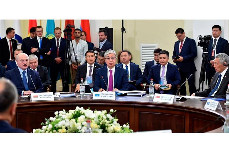 哈萨克斯坦总统:欧亚经济联盟已成为重要的一体化共同体之一