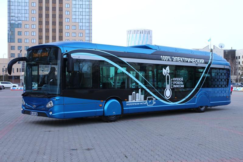Названа стоимость приобретаемых для столицы электроавтобусов