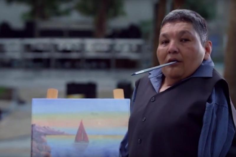 库尤科夫个人画展在阿拉木图举办