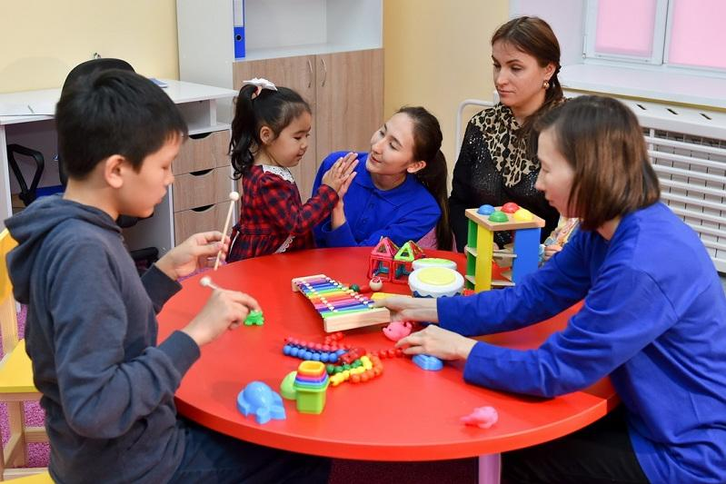 Rehabilitation centre for children with autism opened in N Kazakhstan