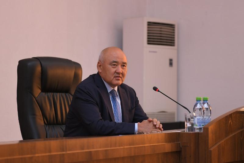 Умирзак Шукеев провел прием граждан в партииNur Otan