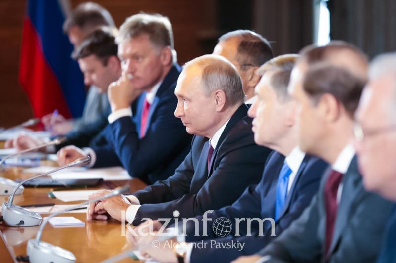 普京:俄罗斯对托卡耶夫的亚洲安全问题评估感兴趣
