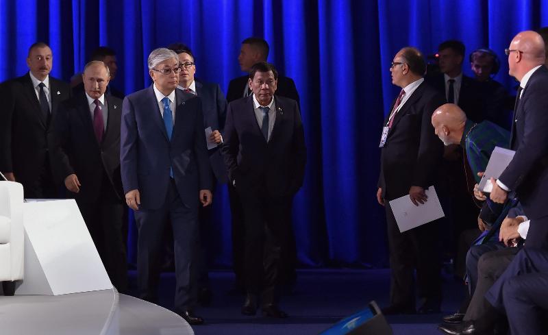 """托卡耶夫总统在""""瓦尔代""""国际辩论俱乐部年会上都说了什么?"""