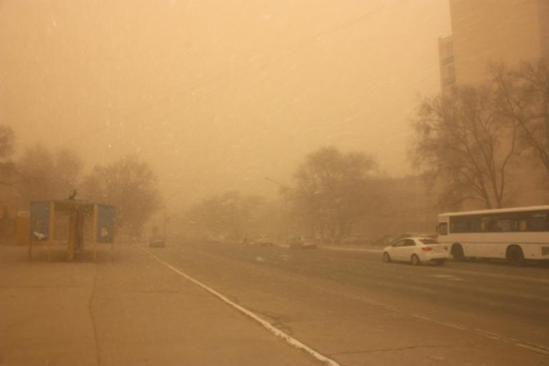 Storm alert issued for Kyzylorda region