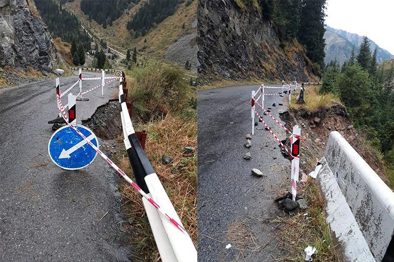 Дорога на БАО зимой будет закрыта