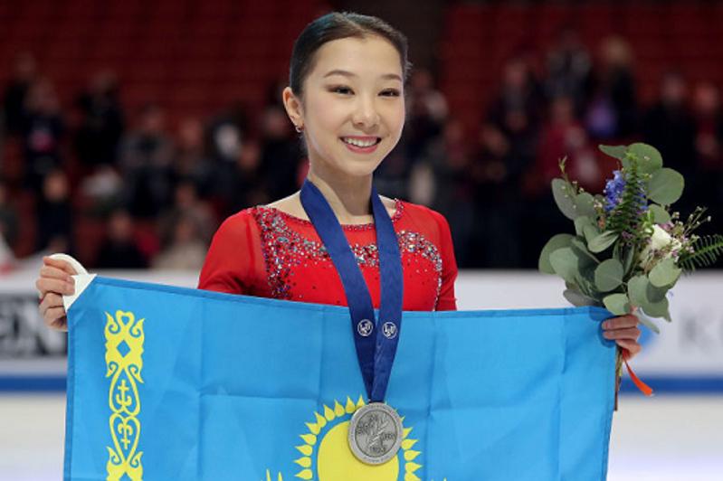 Казахстанская фигуристка Турсынбаева выиграла первую медаль в этом сезоне