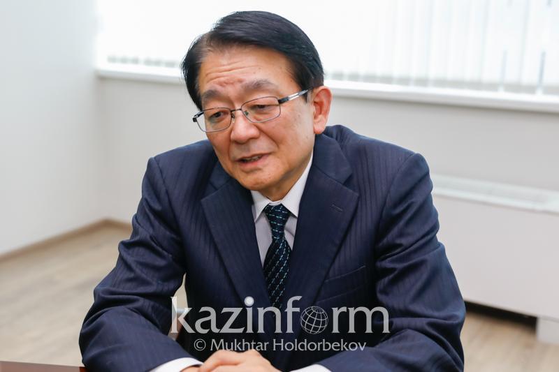 Antinuclear policy consolidates Japan and Kazakhstan, Hirotsugu Terasaki