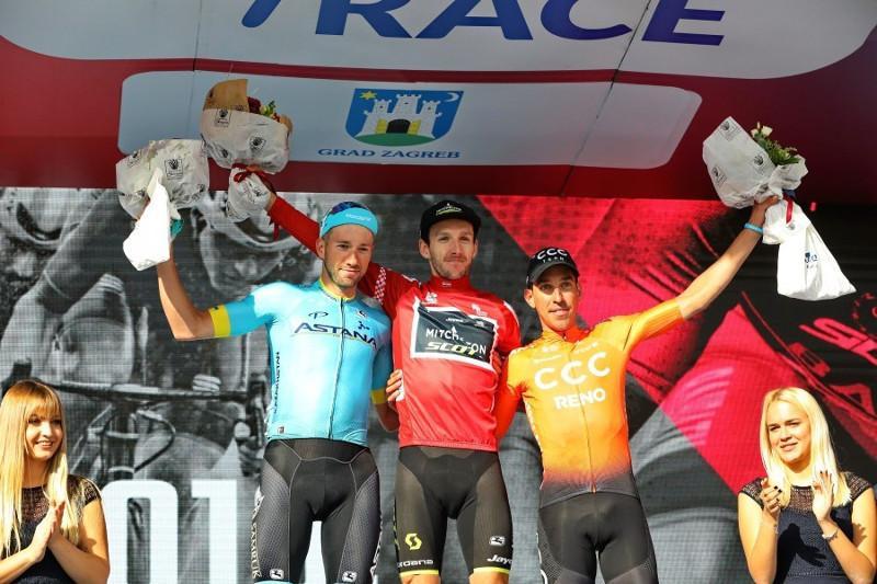 Велокоманда «Астана» выиграла командный зачет по итогам 6 этапа Тура Хорватии