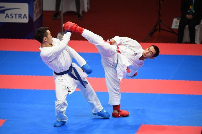 哈萨克斯坦的空手道选手在莫斯科赢得了四枚奖牌
