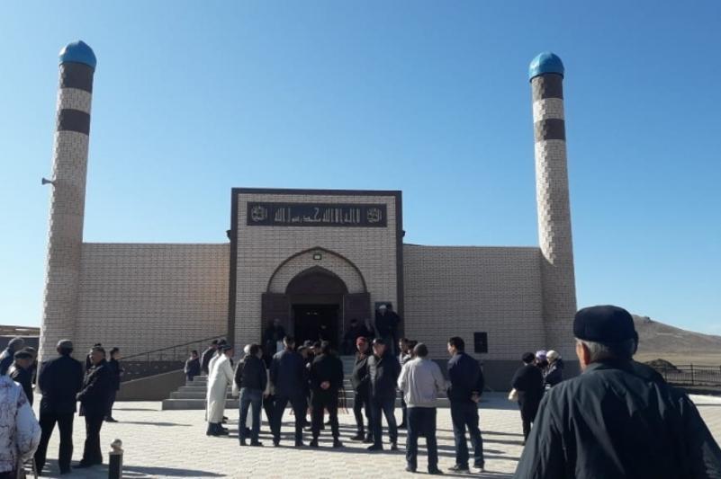 Новая мечеть открылась в Актогайском районе Карагандинской области
