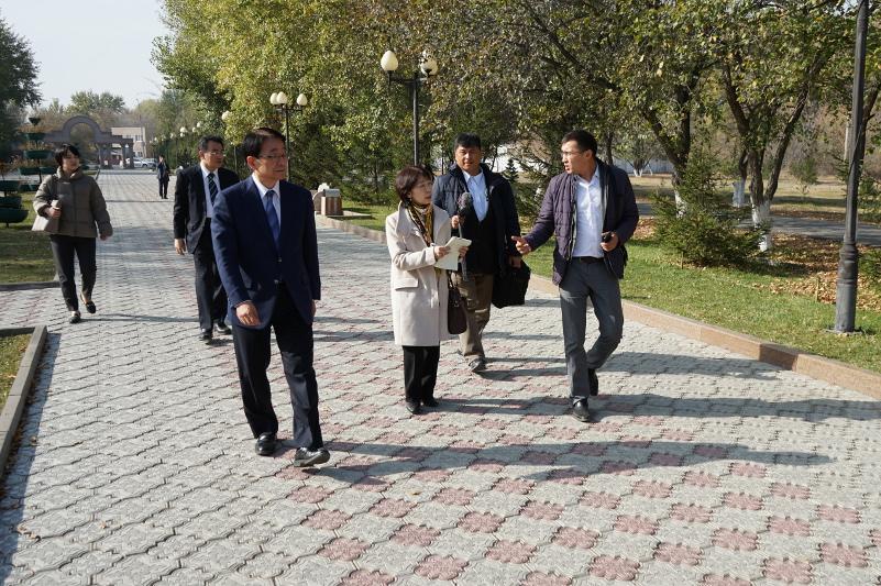 SGI Japan delegation visited Semey