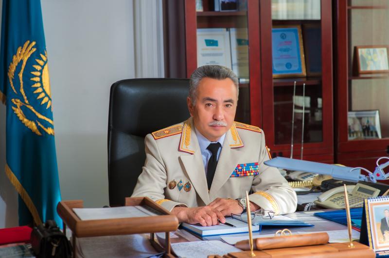 Начальник департамента полиции Акмолинской области отстранен от исполнения обязанностей