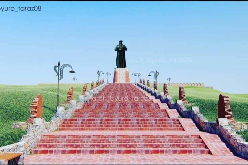 塔拉兹市将新建高达13米的大型纪念碑