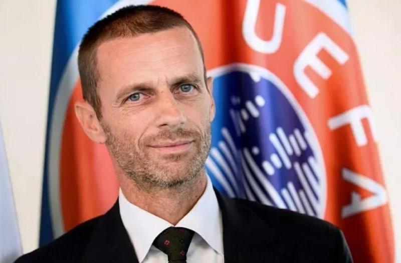 UEFA主席会见凯拉特俱乐部总裁