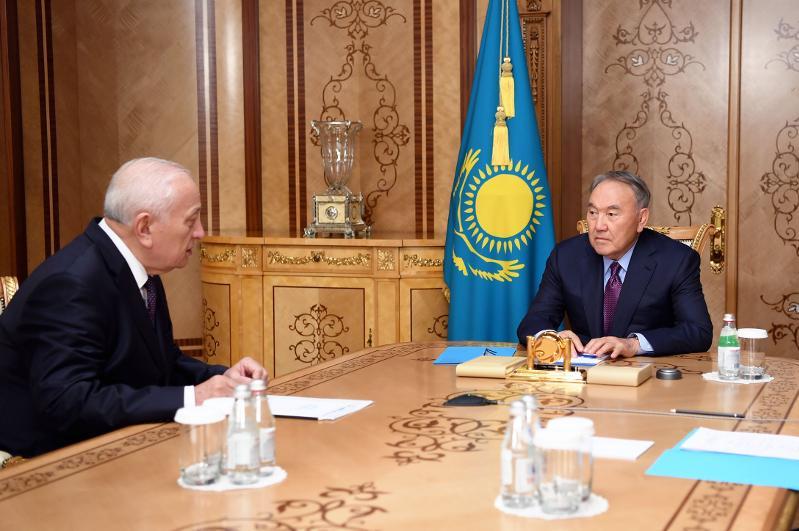 Елбасы принял президента Национальной академии наук РК Мурата Журинова