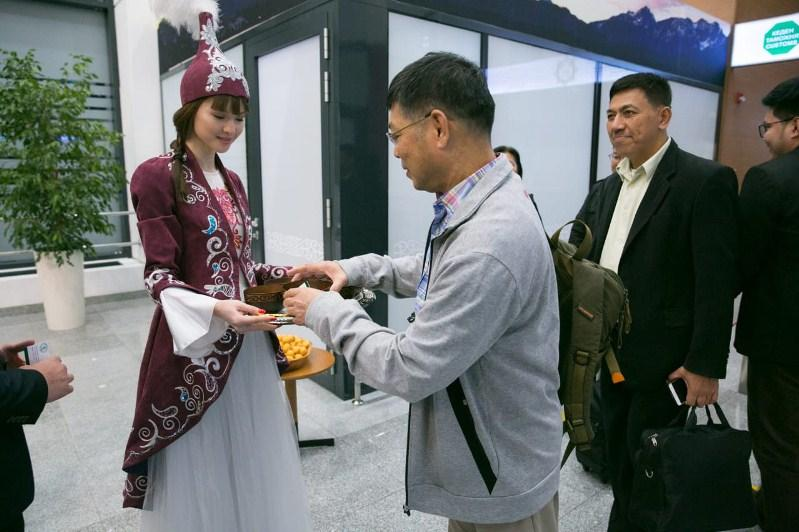 Kazakhstan greets first delegates of UNWTO Summit