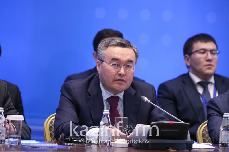 Казахстан постоянно продвигает идею сотрудничества с региональными партнерами – Мухтар Тлеуберди