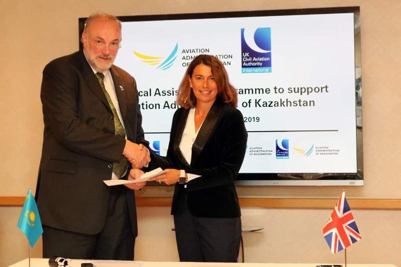 哈萨克斯坦与英国民航局签署技术支持协议
