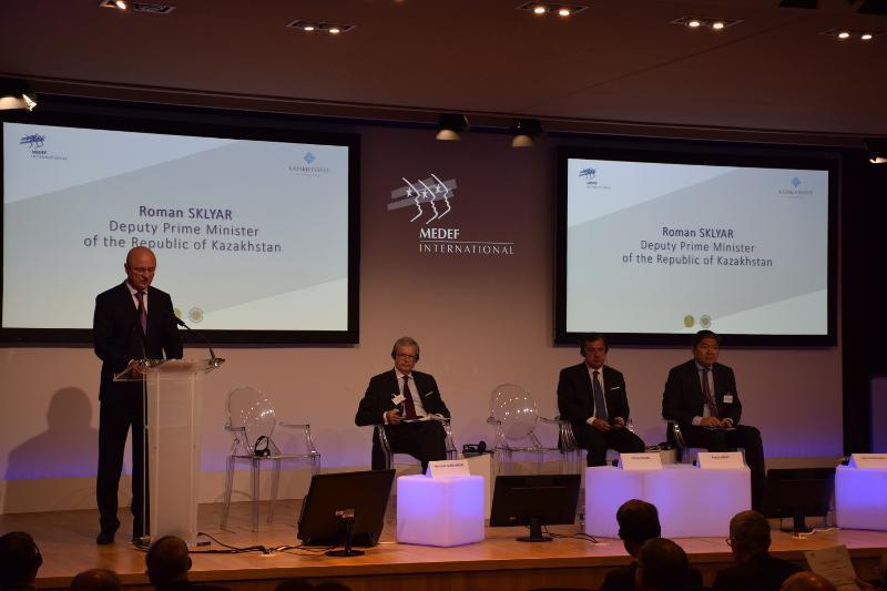 哈萨克斯坦副总理出席哈法商业论坛