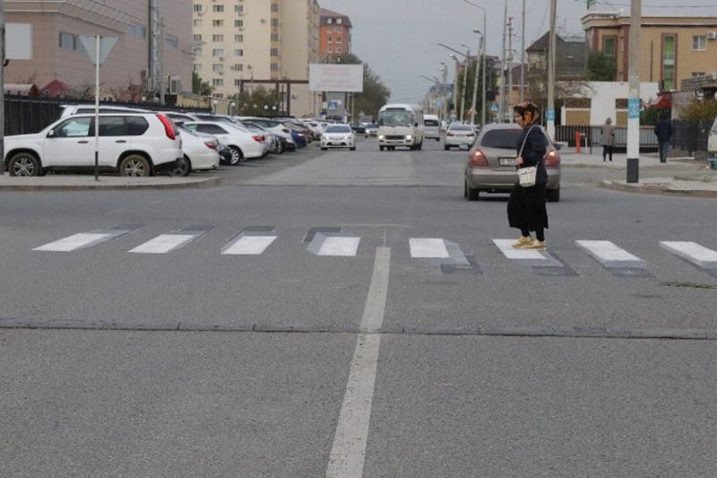 Пешеходные переходы в формате3D появились в Атырау