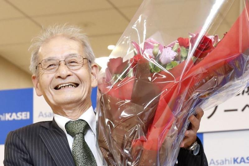 Japan's Akira Yoshino among 3 winners of Nobel Prize in chemistry